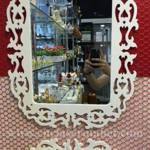 طرح سی ان سی رایگان قاب آینه با کنسول