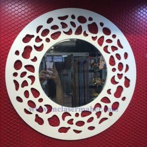 طرح سی ان سی رایگان قاب آینه دستگاه cnc