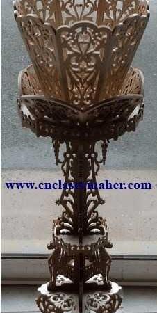 jashamie2 226x450 - جا شمعی زیبا 2  طرح 1055