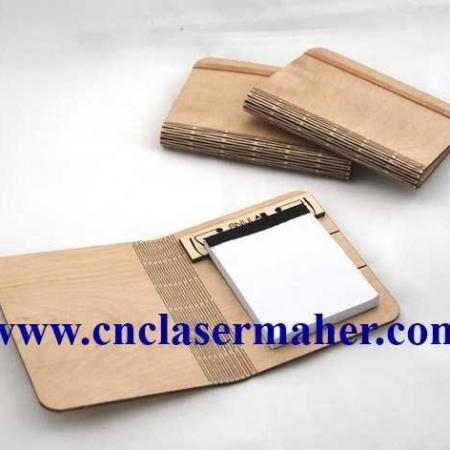 notebook 450x450 - جلد دفترچه چوبی طرح 1044