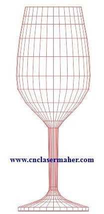 1083bulbing - بالبینگ سه بعدی لیوان طرح 1083