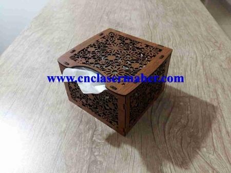 1097tissuebox 450x338 - طرح رایگان لیزر جعبه دستمال کاغذی کوچک طرح 1097