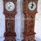 الگوی ساعت ایستاده چوبی با فرمت کورل برای دستگاه لیزر طرح 1101 از نمای روبرو