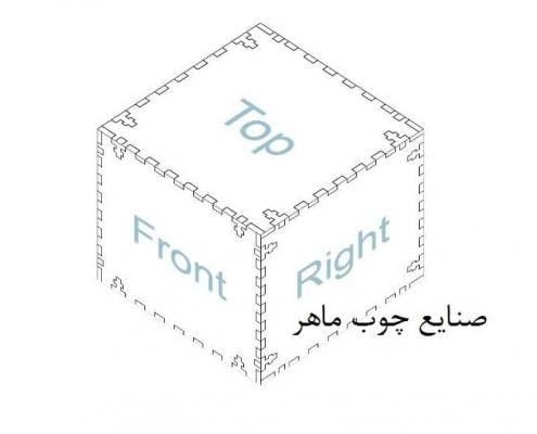 طراحی طرح لیزر جعبه 3