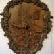 طرح سی ان سی رایگان تابلو چوبی طاووس دستگاه cnc