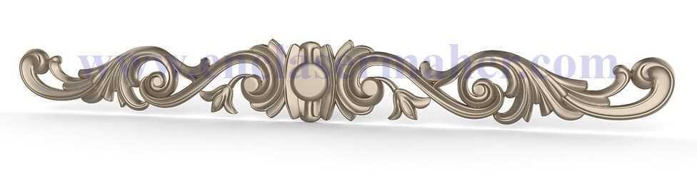تاج مبل، تخت و کمد طرح cnc رایگان 1202