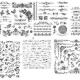مجموعه وکتور حاشیه و گل طرح رایگان لیزر و cnc