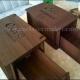 جعبه دستمال کاغذی و قاشق چنگال چندکاره چوبی طرح لیزر رایگان 1213