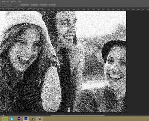آماده کردن عکس برای حکاکی با دستگاه برش لیزر با نرم افزار فوتوشاپ