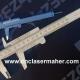 کولیس چوبی طرح رایگان دستگاه برش و حکاکی لیزر 1250