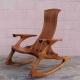 صندلی راک پارامتریک چوبی طرح دستگاه سی انسی 1281