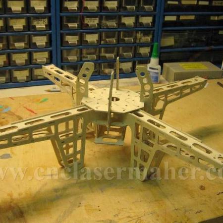 کوادکوپتر طرح دستگاه برش و حکاکی لیزر co2 رایگان 1279