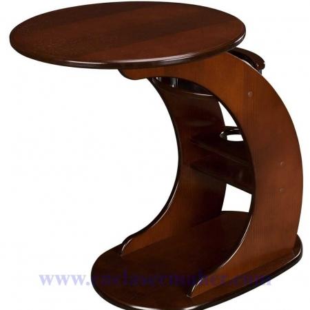میز تلفن چوبی طرح دستگاه سی انسی منبت 1298