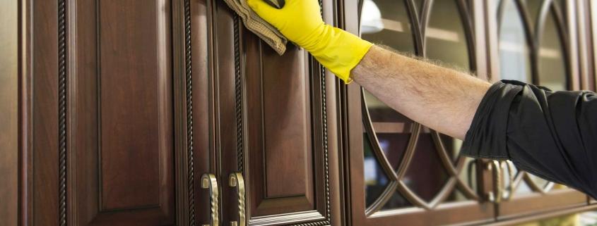 نحوه تمیز کردن کابینت های ممبران و درب کابینت وکیوم شده