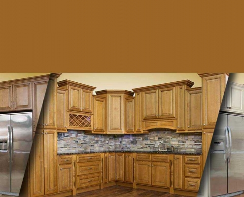 تعویض درب کابینت و تبدیل کابینت ساده به کابینت ممبران آشپزخانه