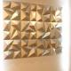 پانل مشبک سه بعدی ۳D ام دی اف mdf طرح PAM02