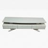 میز lcd عمده ام دی اف طرح سورتمه ma-n109 از نمای سفید