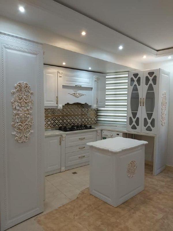 کابینت ممبران ، کابینت هایگلاس و کابینت ساده MDF مدرن آشپزخانه ماهر